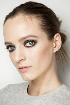 Diane von Furstenberg- Skin was perfected and lightly contoured, and brows were groomed.