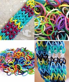 Loom Band Refill Kit Off) - Mamasource Crafts To Do, Crafts For Kids, Crazy Loom, Thing 1, Crafty Craft, Crafting, Loom Bands, Rainbow Loom, Home Made Soap