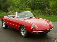 Este pequeño me volvió loco con 18 años!!!1966 Alfa Romeo Spider Deutto