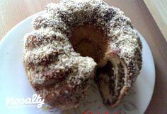 Diós-mézes kelt kuglóf   Nosalty Bagel, Doughnut, Muffin, Bread, Breakfast, Pasta, Frosting, Dios, Morning Coffee