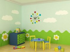 childrens church decor | How to Decorate a Church Nursery