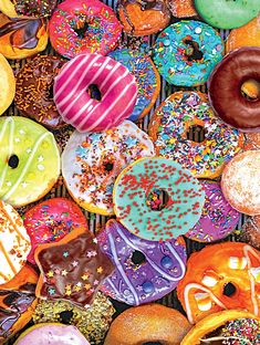Ceaco Donut Time Puzzle 550 Pieces