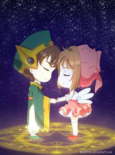Syaoran and Sakura by *misstirius