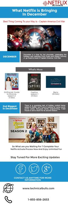 Netflix is bringing very exciting stuff in December. Check what exciting shows or movies are coming in next month. #netflix #december #shows #movies #netflixactivate #netflixcom #wwwnetflixcom
