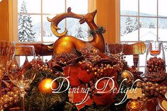 Dining Delight: Christmas Inspiration
