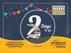 ' 2 days ' to go for Celebrations & Pixellence Awards Ceremony.