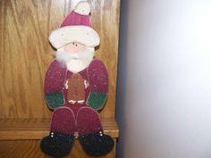 20 OFF Primitive Santa Wooden Shelf Sitter by MondaysChildPrims, $5.60