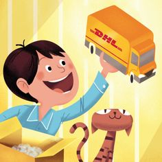- Deutsche Post advent calender on Behance