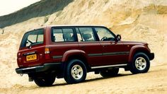 80-series Toyota Land Cruiser VX