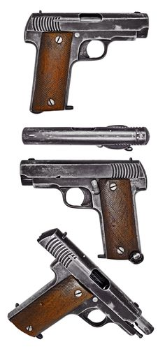 """The French Mle.1915 """"Ruby"""" Pistol"""