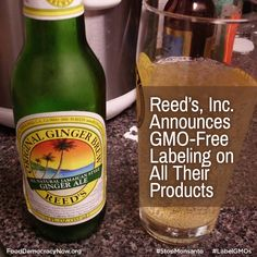 """""""I have always been leery of engineers meddling with food,"""" said Chris Reed, founder and CEO of Reed's. """"We have avoided GMOs in our products because we feel they have not been adequately researched. Our customers have been very vocal about GMO ingredients in their food. GMO-free food products are a very fast growing trend in this country, and I can see the natural food industry moving to go completely GMO free in stores in the near future."""""""