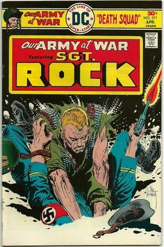 My favorite Comic Book.  Again, Joe Kubert.