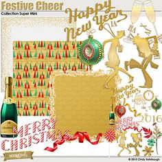 Festive Cheer Collection Super Mini by Cindy Rohrbough