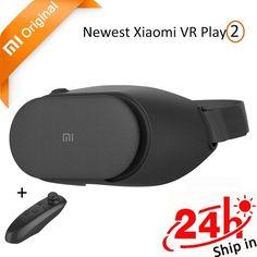 Original Xiaomi Mi VR Play 2 Immersive Virtual Reality 3D Glasses Xiaomi for 4.7-5.5 Smart Phone 1080P with Controller Xiaomi VR http://cheap-drones-vr.myshopify.com/products/original-xiaomi-mi-vr-play-2-immersive-virtual-reality-3d-glasses-xiaomi-for-4-7-5-5-smart-phone-1080p-with-controller-xiaomi-vr?utm_campaign=crowdfire&utm_content=crowdfire&utm_medium=social&utm_source=pinterest
