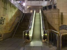 Photograph Paper Print Subway Brussels Elevator Joachim Chapelle #Binnovart For Sale