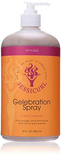 Jessicurl Gelebration Spray Citrus Lavender 320 Fluid Ounce -- To view further for this item, visit the affiliate link Amazon.com.