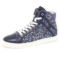 7925Q sneaker HOGAN REBEL blu paillette scarpe donna shoes woman [35] in OFFERTA su www.kellieshop.com Scarpe, borse, accessori, intimo, gioielli e molto altro.. scopri migliaia di articoli firmati con prezzi in SALDO #kellieshop Seguici su Facebook > https://www.facebook.com/pages/Kellie-Shop/332713936876989