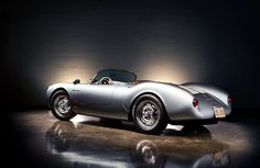 Porsche 550 Spyder - Photography by Jeremy Cliff.