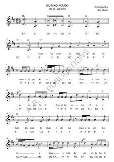 BOLLYWOOD SHEET MUSIC BOOKS (rajbalan) on Pinterest