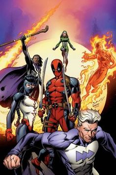 Even though the Astonishing Avengers failed to stop the inverted X-Men, the appearance of the Axis gave them a second wind to keep on fighting long enough for Doctor Doom, the White Skull (the inverted version of the Red Skull), and the Scarlet Witch (possessed by Daniel Drumm in order to cooperate) to cast a reinversion spell, which turned almost everyone back to normal.