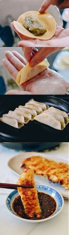 Easiest Pork and Cabbage Potstickers EVER, recipe by The Woks of Life