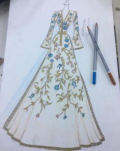 No photo description available. Dress Design Drawing, Dress Design Sketches, Fashion Design Sketchbook, Dress Drawing, Fashion Design Drawings, Fashion Figure Drawing, Fashion Drawing Dresses, Fashion Illustration Dresses, Fashion Model Sketch