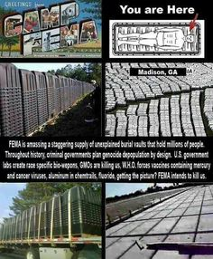 FEMA camps..........what happened to our Natural Americans?  What happened to our American citizens of Japanese origin during WW2? read some history
