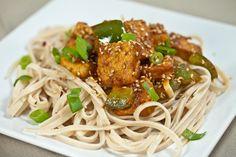 Ginger-Garlic Tofu