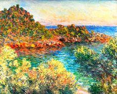 Claude Monet (1840 - 1926): Près Monte-Carlo, 1883