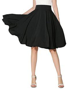 Choies Women's High Waist Midi Skater Skirt S Choies https://www.amazon.com/dp/B0144AYICW/ref=cm_sw_r_pi_dp_x_Vz6lyb3K6K622