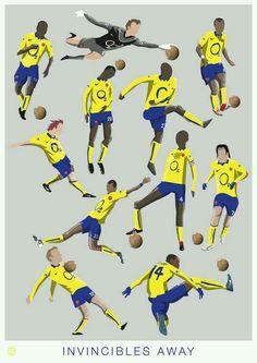 Arsenal away kit Invincibles wallpaper. Best Football Team, Arsenal Football, Football Soccer, Arsenal Players, Arsenal Fc, Arsenal Wallpapers, Soccer Art, Soccer Theme, Football Design