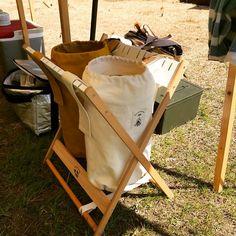@196_sato - Tomoya Sato | キャンプ用ゴミ箱の試作品‼️ 手直しは必要(>_<) #196style #キャンプゴミ箱 #グランピング #196
