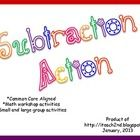 ~This packet is designed to reinforce subtraction skills.  ~Activities align with CCSS.~This packet is a great compliment to Math Expressions.~S...