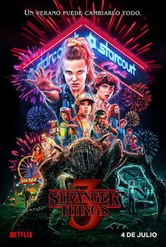 Netflix releases a brand new Stranger Things season 3 poster exactly one month before it's set to hit the streaming platform on July Stranger Things Netflix, Poster Stranger Things, Stranger Things Tumblr, Stranger Things Aesthetic, Stranger Things Season 3, Eleven Stranger Things, Secret Plot, Starnger Things, New Poster