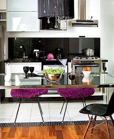 Cozinhas integradas com bancadas