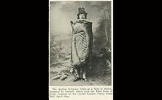 The Author in Fancy Dress as a Side of Bacon - April 1894
