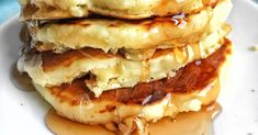 Good Old Fashioned Pancakes Homemade Drop Biscuits, Homemade Bagels, Homemade Muffins, Breakfast Dishes, Breakfast Recipes, Breakfast Pancakes, Great Recipes, Favorite Recipes, Popular Recipes