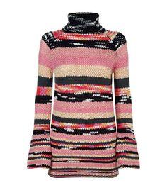 MISSONI Chunky Intarsia Knit Jumper. #missoni #cloth #