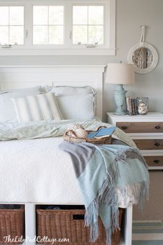 Diy Headboard - More Changes In The Master Bedroom