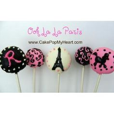 Google Image Result for http://shop.cakepopmyheart.com/ccdata/images/smallMain_10_123.jpg Today (8th July) is the day Paris was founded in 951 AD. Here are some 'Pari' style cake pops for inspiration.