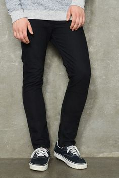 Urban Outfitters - Levi`s Monochrome Twilight 510 Skinny Jeans