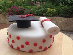 Graduation Chocolate Cake #graduation #chocolatecake