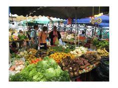 Guadeloupe, marché à Point à Pitre