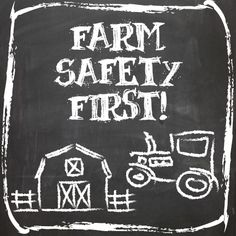 September is Farm Safety Month!  Agriculture touches everybody, every day. Share this photo to raise awareness to keep America's farm and ranch families safe!   These hard-working men, women and children work each day to provide a safe, abundant food supply for consumers around the world!