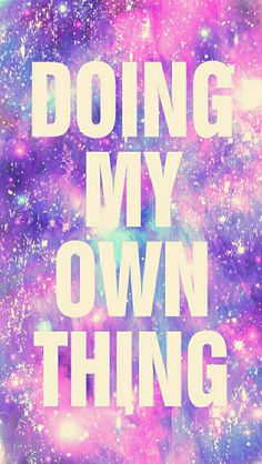 Doing my own thing galaxy iPhone/Android wallpaper created for the app CocoPPa!