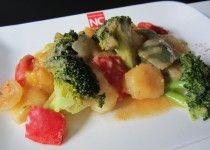 Verduras con Patata Cocida