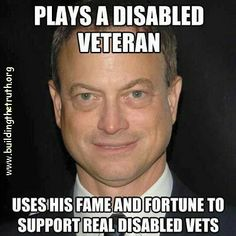 Think Gary Sinise has earned an honorary spot on the military tribute board.  Few in America have done more for the troops.    Sons of Liberty Tees
