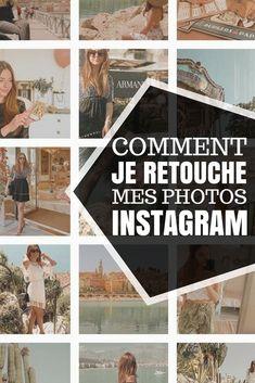 Comment je retouche mes photos Instagram + astuces