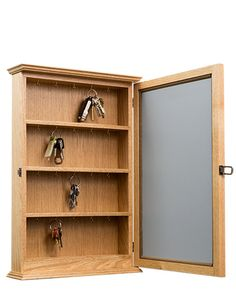Oak Key Cabinet by fwdisplay on Etsy
