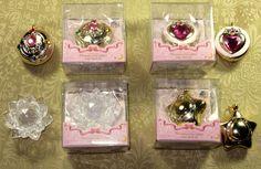 Sailor Moon Minaturely Tablet Part 2 Complete Set Star Locket Brooch Crystal Official NEW $30